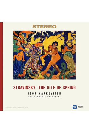Виниловая пластинка Warner Music Classic Igor Markevitch:Stravinsky: The Rite Of Spring