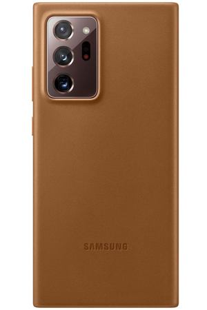Чехол Samsung Leather Cover Galaxy Note 20 Ultra Brown EF-VN985