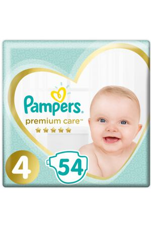 Подгузники Pampers Premium Care maxi 9-14 кг 54 шт